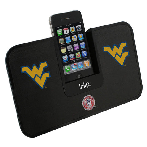 Portable Premium Idock With Remote Control - West Virginia Mountaineers - Peazz Toys