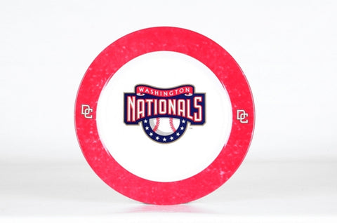 Dinner Plates 4-Pack - Washington Nationals - Peazz Toys