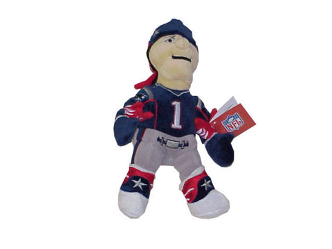 "Forever Pat The Patriot 8"" Plush Bear - Peazz Toys"