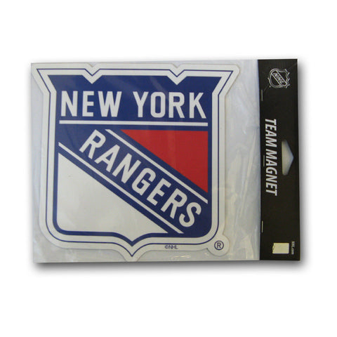 "New York Rangers 6"" Team Logo Magnet - Peazz Toys"