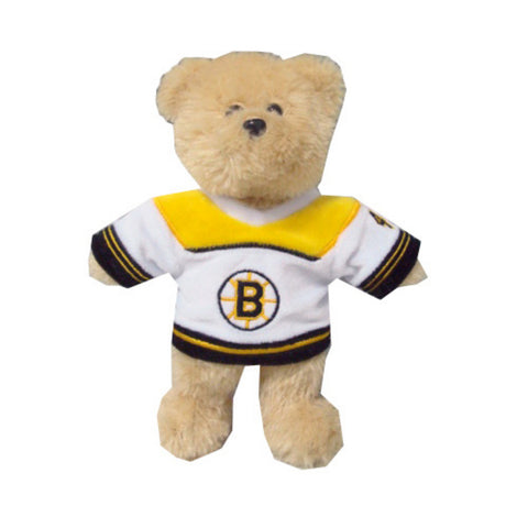 "Boston Bruins Bobby Orr #4 8"" Bear Home Jersey - Peazz Toys"