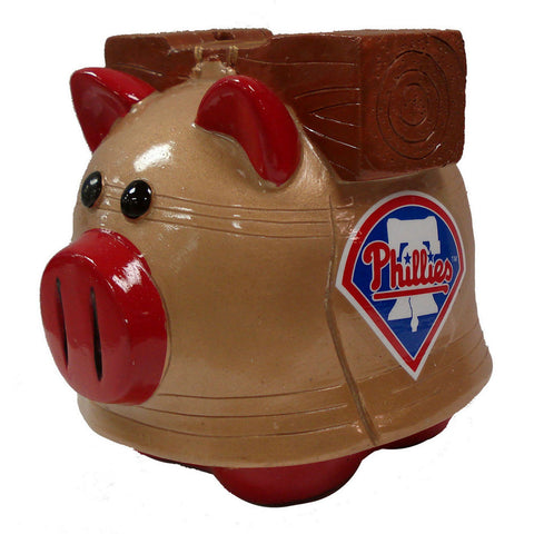 Forever Collectibles Small Thematic Piggy Bank - Philadelphia Phillies - Peazz Toys