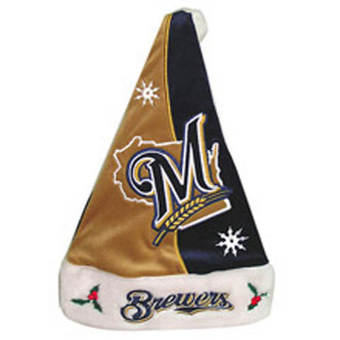 Forever MLB Santa Hat - Brewers - Peazz Toys