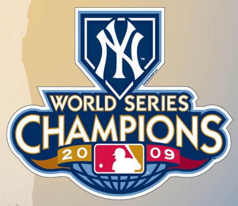 "2009 World Series Champions 6"" Magnet New York Yankees - Peazz Toys"