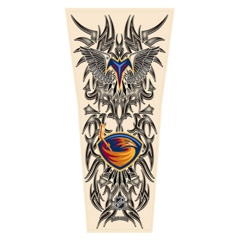NHL Tribal Tattoo Sleeve (Men's One Size) - Atlanta Thrashers - Peazz Toys