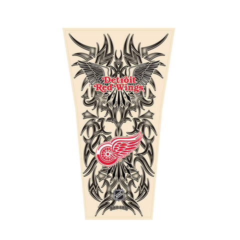 NHL Tribal Tattoo Sleeve (Men's One Size) - Detroit Red Wings - Peazz Toys