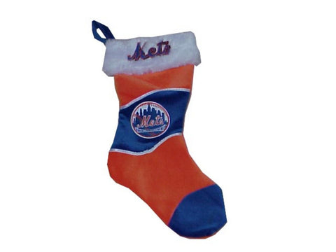 17 Inch MLB Holiday Stockings New York Mets - Peazz Toys