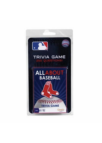 All About Trivia Card Game - Boston Red Sox - Peazz Toys