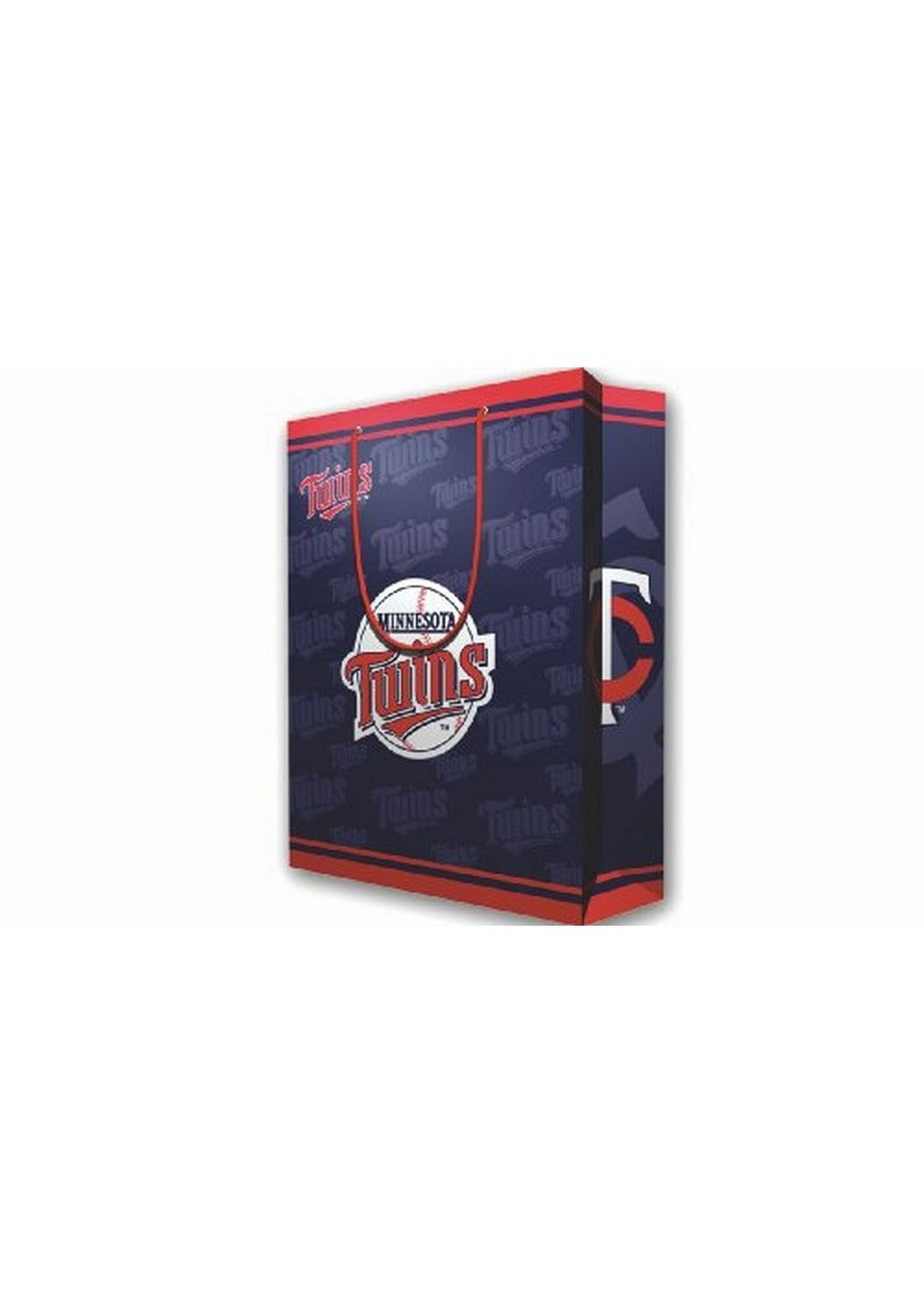 2 MLB Large Gift Bag Twins