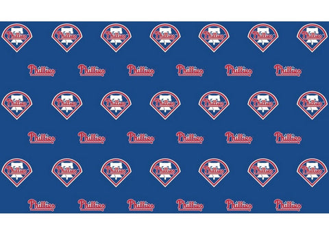 2-Packages of MLB Gift Wrap - Phillies - Peazz Toys
