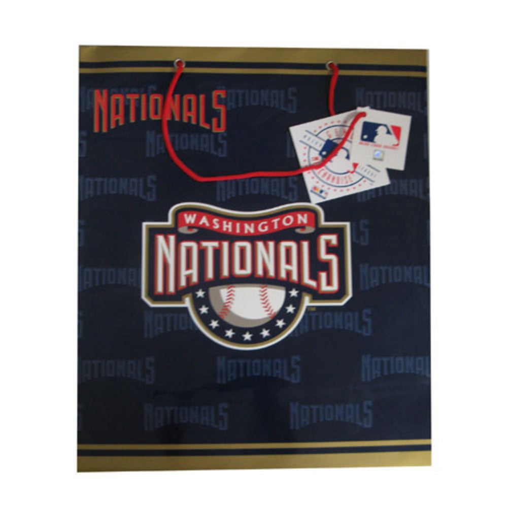 2 MLB Large Gift Bag Nationals