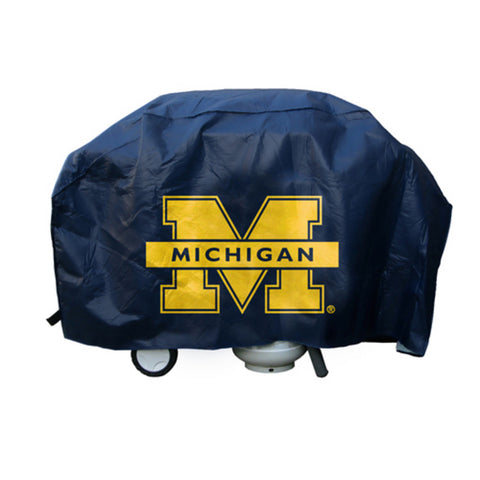 Ncaa Licensed Economy Grill Cover - Michigan Wolverines - Peazz Toys