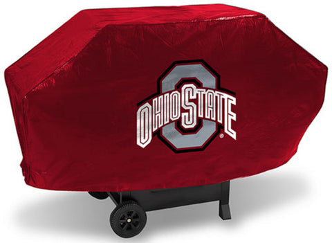 Ncaa Licensed Deluxe Grill Cover - Ohio State Buckeyes - Peazz Toys