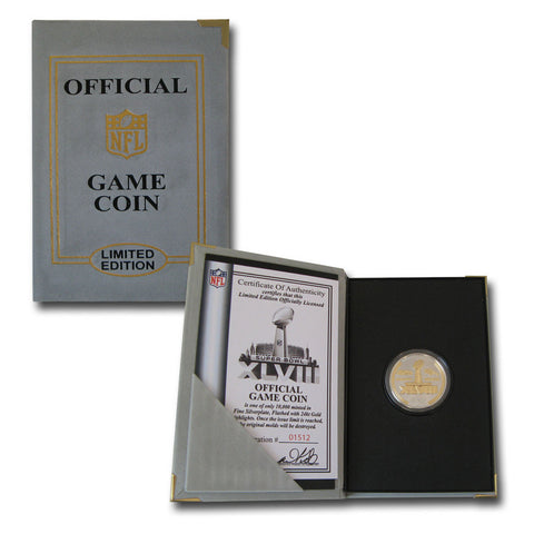 Super Bowl 48 Official Two-Tone Flip Coin - Peazz Toys