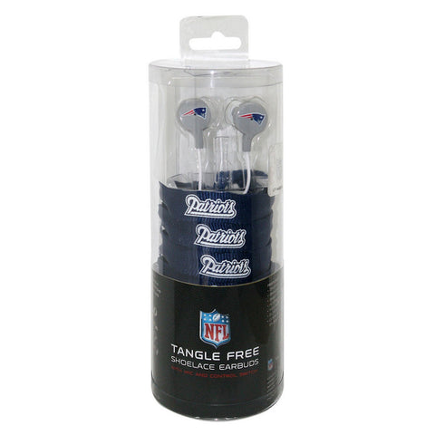 Shoelace Earbuds - New England Patriots - Peazz Toys