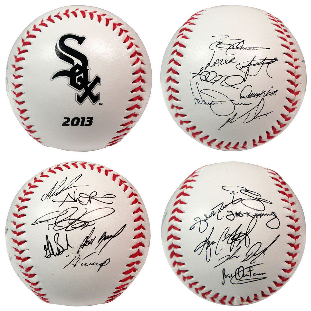 2013 Team Roster Signature Ball Chicago White Sox