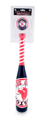 "Team Logo ""Grand Slam"" Softee Bat & Ball Set - Peazz Toys"