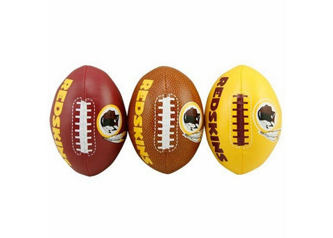 3-Football Softee Set Washington Redskins - Peazz Toys