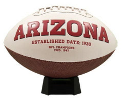 Signature Series Team Full Size Footballs - Arizona Cardinals - Peazz Toys