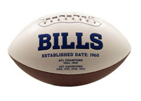 Signature Series Team Full Size Footballs - Buffalo Bills - Peazz Toys