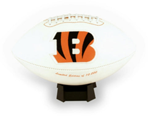 Signature Series Team Full Size Footballs - Cincinnati Bengals - Peazz Toys