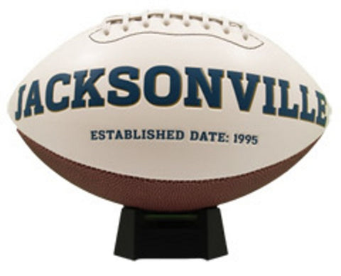 Signature Series Team Full Size Footballs - Jacksonville Jaguars - Peazz Toys