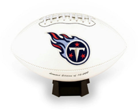 Signature Series Team Full Size Footballs - Tennessee Titans - Peazz Toys