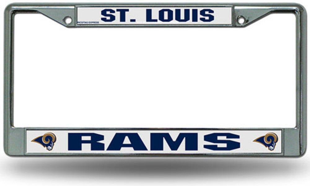 License | Chrome | Saint | Louis | Plate | Frame | Ram