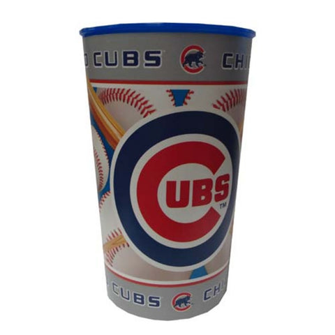 Majestic Plastic Cup 22-Ounce - Chicago Cubs - Peazz Toys