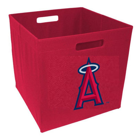 12-Inch Team Logo Storage Cube - Los Angeles Angels - Peazz Toys