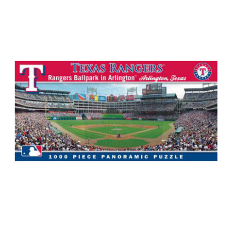 1000 Piece Ballpark Puzzle - Texas Rangers - Peazz Toys
