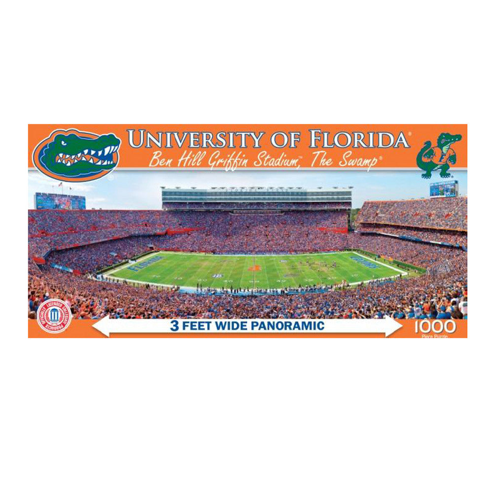 1000 Pc Stadium Puzzle Florida Gators