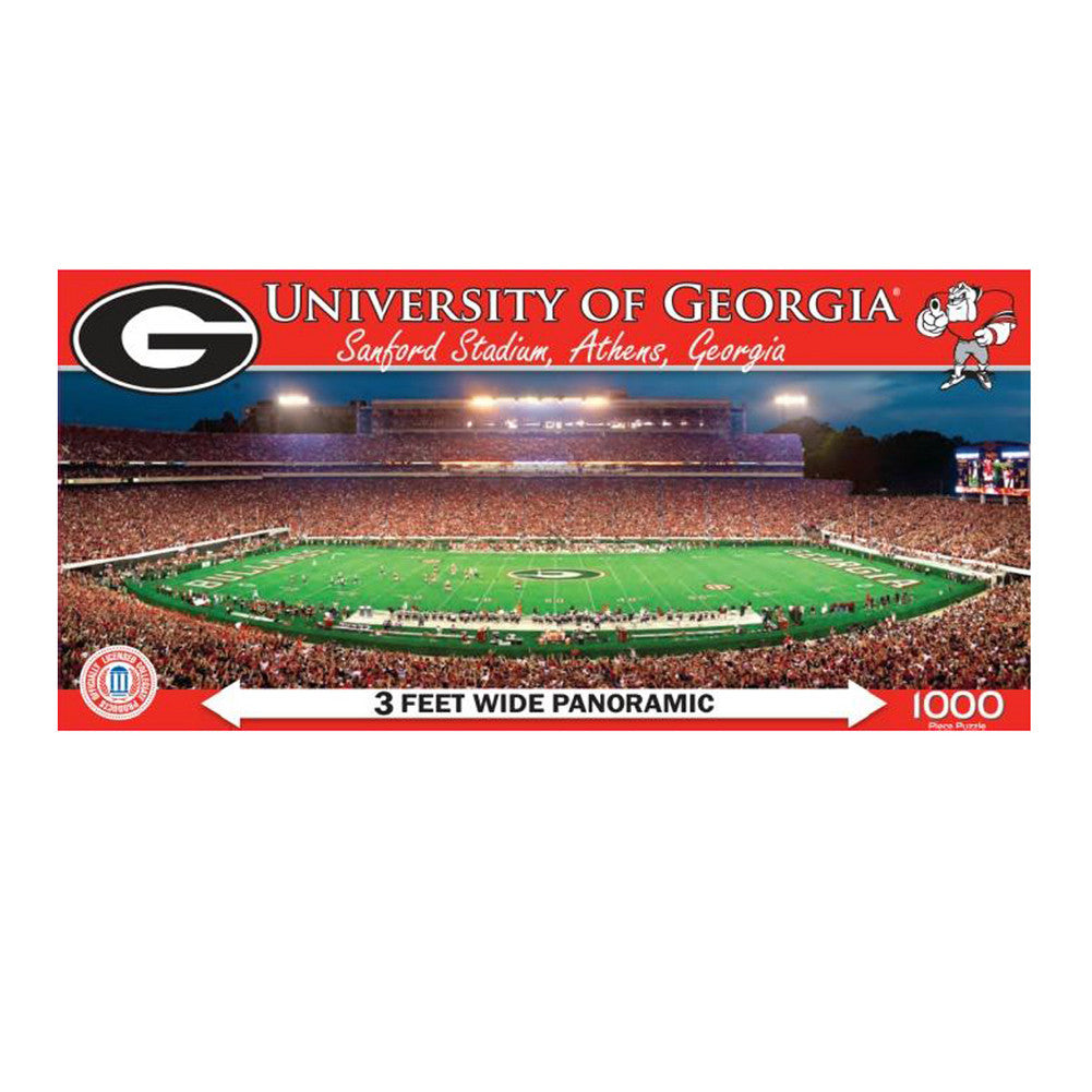 1000 Pc Stadium Puzzle Georgia Bulldogs