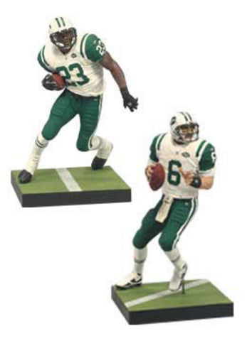 Mcfarlane NFL Mark Sanchez & Shonn Greene New York Jets Collector's Edition Action Figure 2-Pack - Peazz Toys