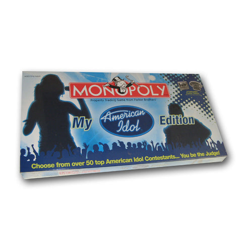 Monopoly: My American Idol Collector's Edition - Peazz Toys