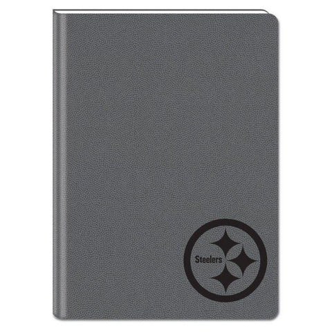 Gray 5X7 Writing Journal - Pittsburgh Steelers - Peazz Toys