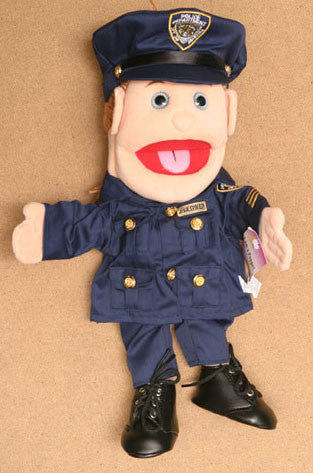14 Policelady Glove Puppet