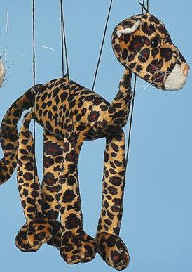 16 Leopard Marionette Small