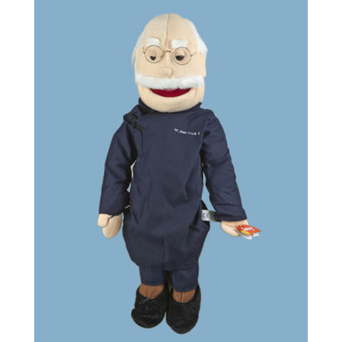 "28"" Asian Grandfather Full Body Puppet GS4110 - Peazz Toys"