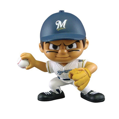 Lil' Teammates Pitcher - Milwaukee Brewers - Peazz Toys