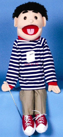 "28"" Good For Life Boy Puppet - Peazz Toys"