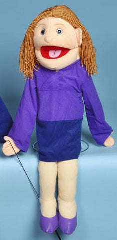 "28"" Mom Full Body Puppet White - Peazz Toys"