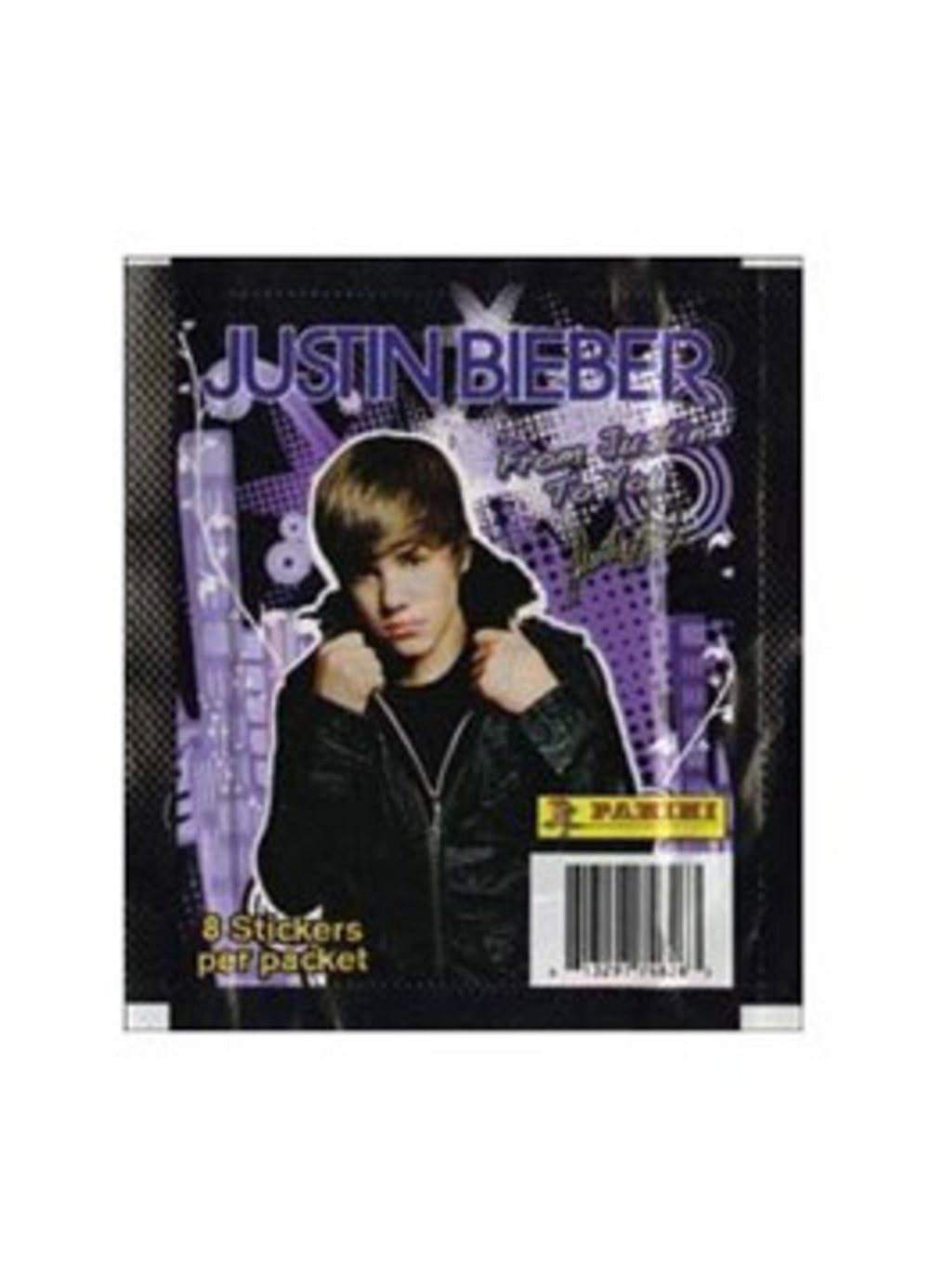 2011 From Justin To You Sticker Pack