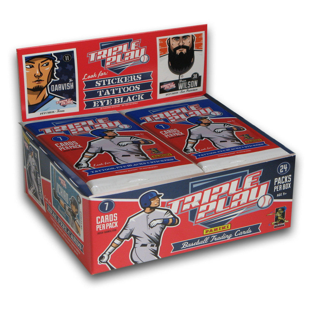 2012 Panini Triple Play Baseball 24 Packs