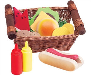 Anatex FBA0103 Picnic Lunch Basket - Peazz Toys