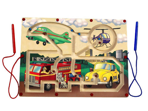 Anatex MTP6022 Magnetic Transportation Maze - Peazz Toys