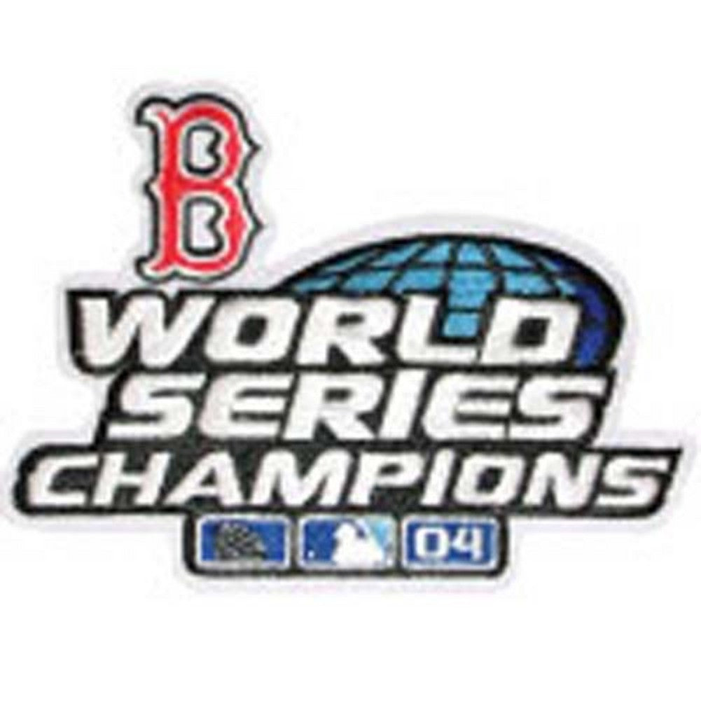 2004 Red Sox World Series Logo Patch
