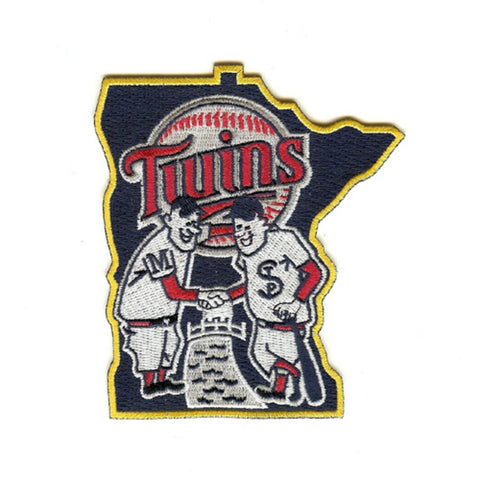 Minnesota Twins - ''shaking Hands'' Patch - Peazz Toys
