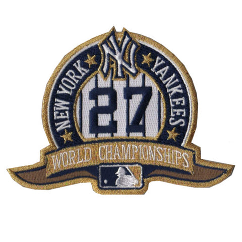 Yankees 27Th Championship Collectible Patch - Peazz Toys