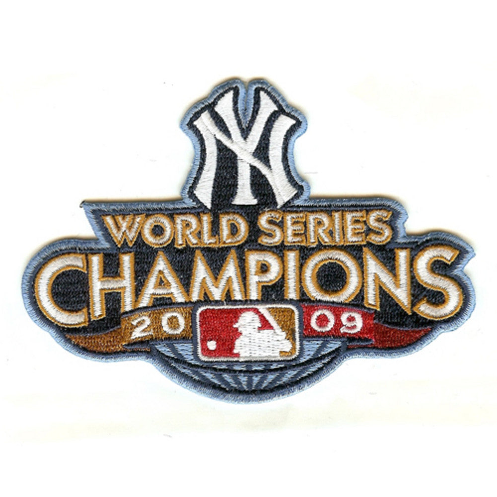 2009 World Series Patch New York Yankees
